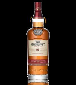 THE GLENLIVET 21 YEAR OLD