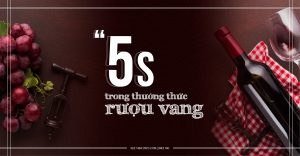 BÍ QUYẾT 5S TRONG THƯỞNG THỨC RƯỢU VANG