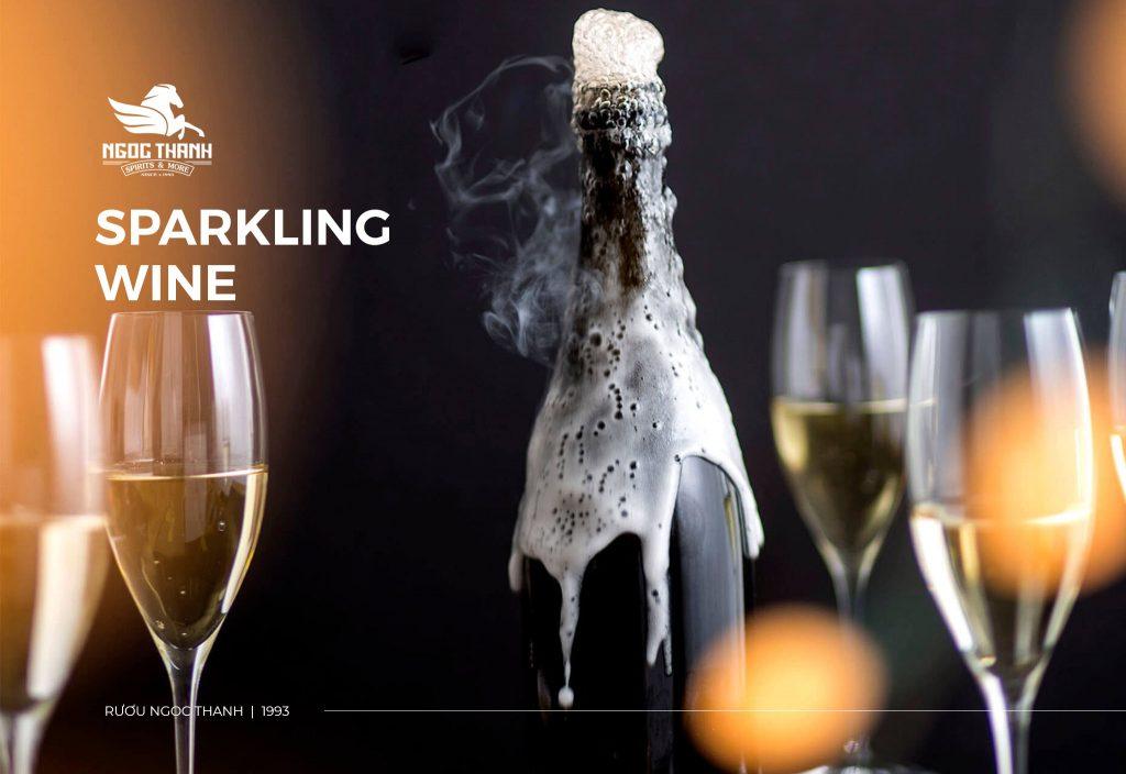 SPARKLING WINE LÀ GÌ? 6 ĐIỀU THÚ VỊ CẦN BIẾT VỀ SPARKLING WINE